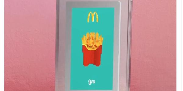 Les NFT collectors de McDonald's rendent hommage à ces produits cultes.