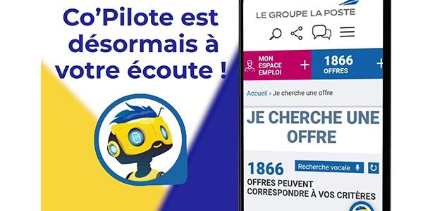expérience candidat : pensez aux robots conversationnels pour l'optimiser comme le fait le groupe La Poste avec son chatbot Co'Pilote.