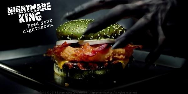 La campagne marketing d'Halloween 2018 de Burger King a fait le buzz sur la Toile.