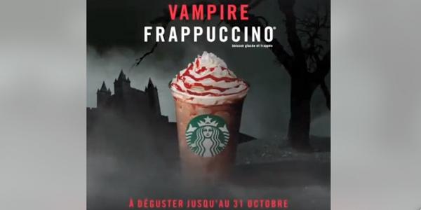De nombreuses entreprises, comme Starbucks, proposent des produits spéciaux pour Halloween.