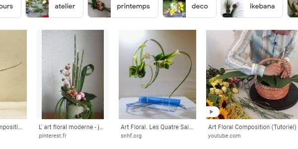 La place du SMO dans la stratégie SEM : capture d'écran montrant des contenus issus de Pinterest et YouTube dans les résultats de la recherche d'images sur Google.